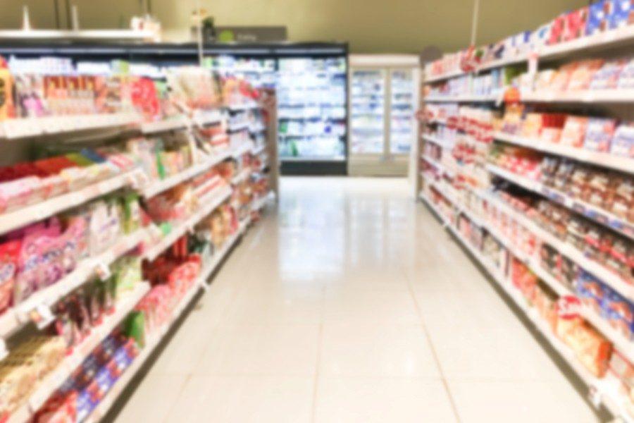 store-shelves